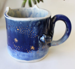 Space Kitty Cat Coffee Mug