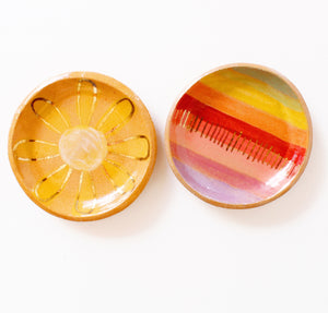 Rainbow Stripe Trinket Dish