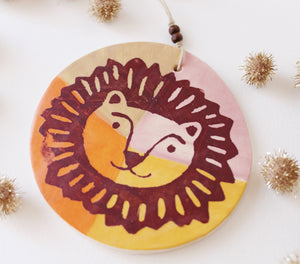 Brave Lion Ornament