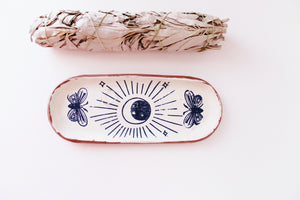 Moon & Moths Tray - Small