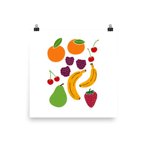 Fresh Fruit Art Print