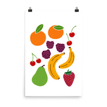 Load image into Gallery viewer, Fresh Fruit Art Print