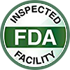 FDA Registered<br>and Inspected