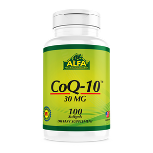 COQ10 30mg - 100 Soft Gels