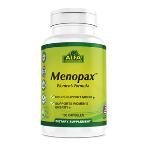 Menopax - Nutritional Supplement - 100 capsules