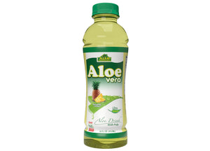 Aloe Vera Drink-Pineapple Flavor-16 oz