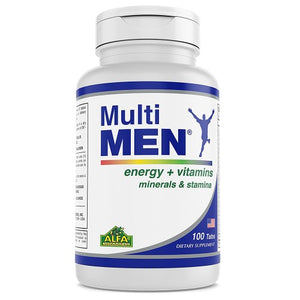Multi Men-Dietary Supplement for men - 100 Tablets