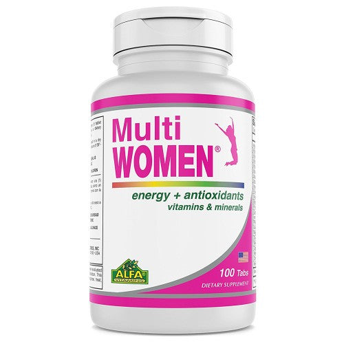 Multi Women - Dietary Supplement for women - 100 Tablets