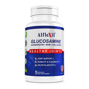 Alflexil-Healthy Joints-Glucosamine Chondroitin MSM Collagen-60 capsules