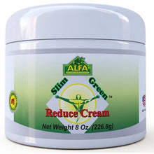 Slim Green Reduce Cream-Fat Burning Cream-8 oz