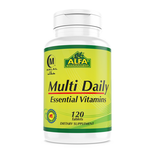Multi Daily - 120 Tablets (Aryan Sana)