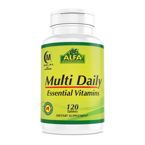 Multi Daily - 120 Tablets (Private Label)