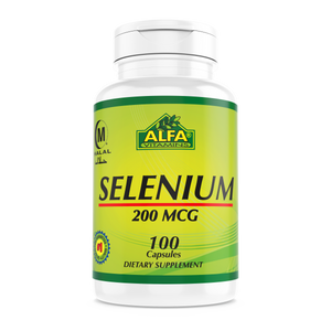 Selenium 200mcg - 100 Capsules (Private Label)