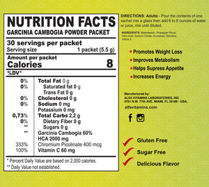 Garcinia Cambogia - Powder Supplement