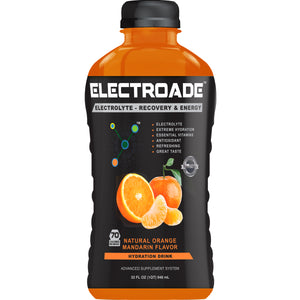ELECTROADE Sports Hydration Drink - Orange Mandarin Flavor - 32 FL Oz