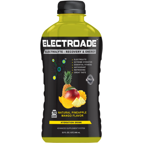ELECTROADE Sports Hydration Drink - Pineapple Mango Flavor - 32 FL Oz