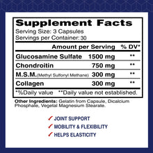 supplement facts of 90 capsules