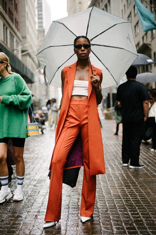 New york fashion week street style-tendance-gabryelledesigns