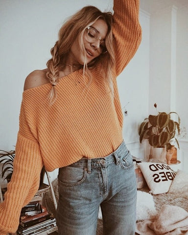 gabryelle designs yellow sweater back to school outfit ideas