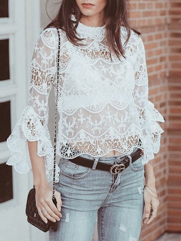 gabryelle designs white top lace fashion back to school ideas