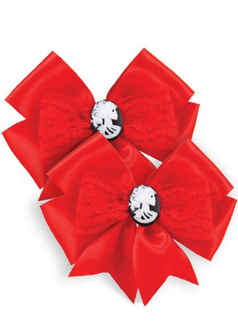 The BEAUTY FOREVER Hair Bow Set (Set of 2 Bows)