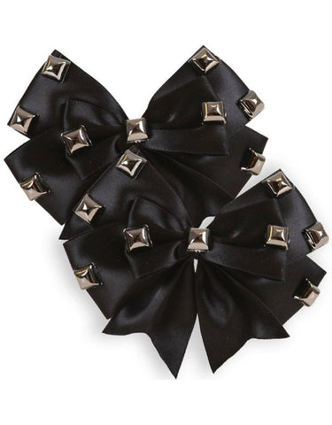 The DARK SIDE Hair Bow Set (Set of 2 Bows)