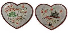 LOS DONKEYS Heart Patch Pack **NEW** (2 patches)