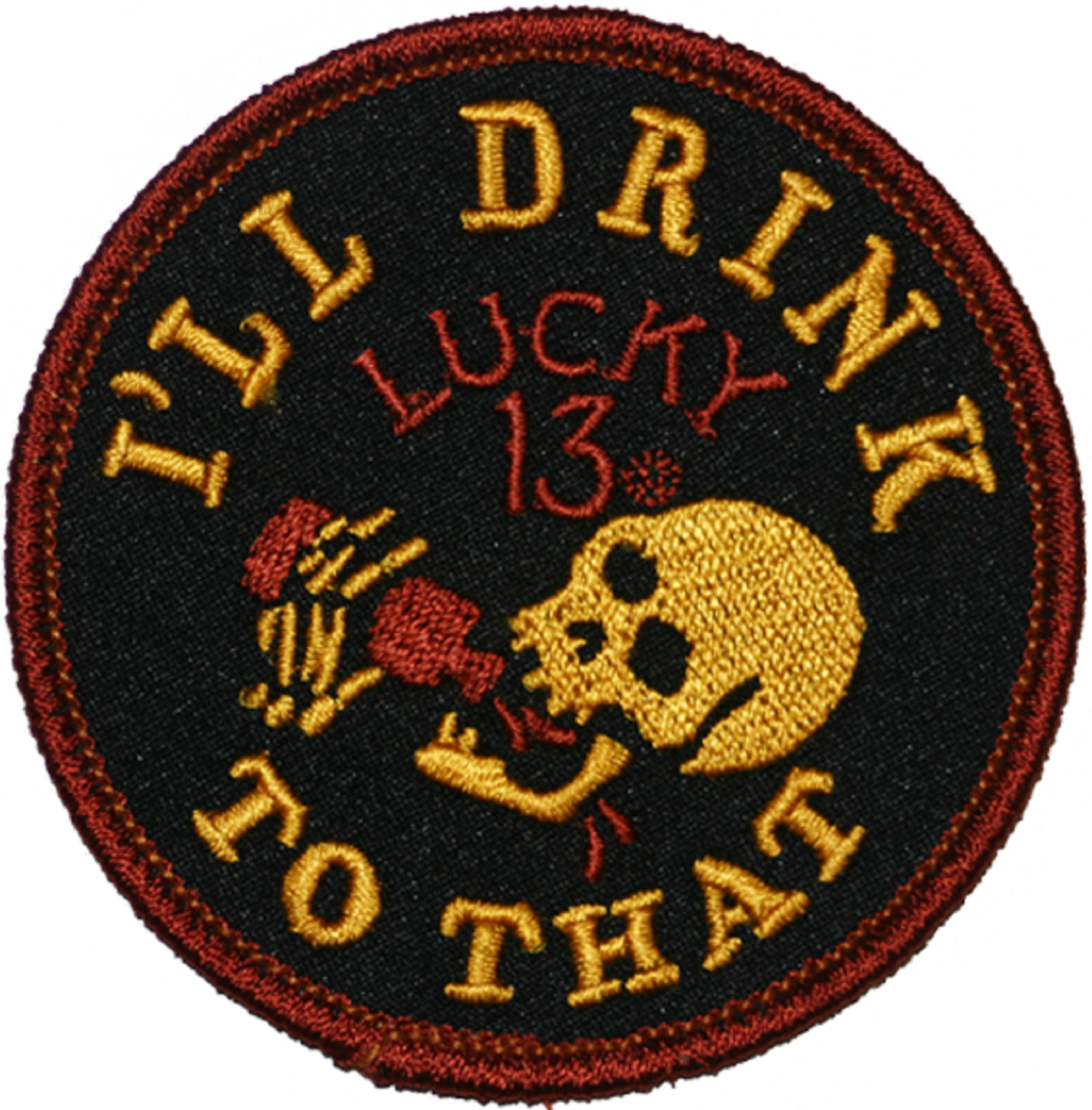 The DRINK TO THAT Patch **NEW**