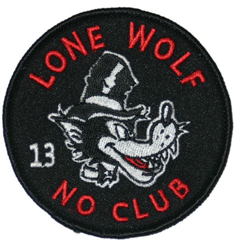 The LONE WOLF Patch **NEW**