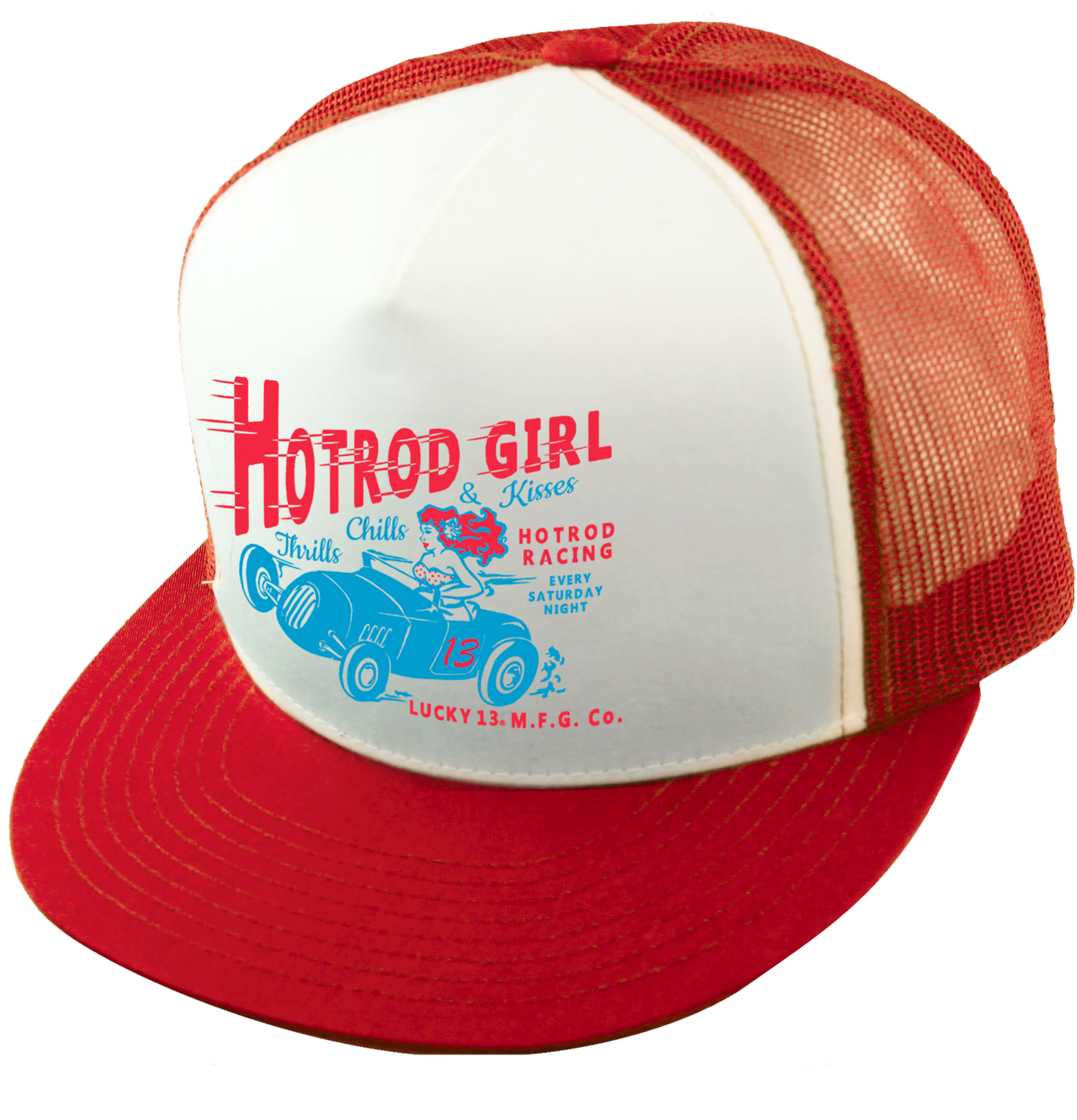 The HOT ROD GIRL Trucker Cap