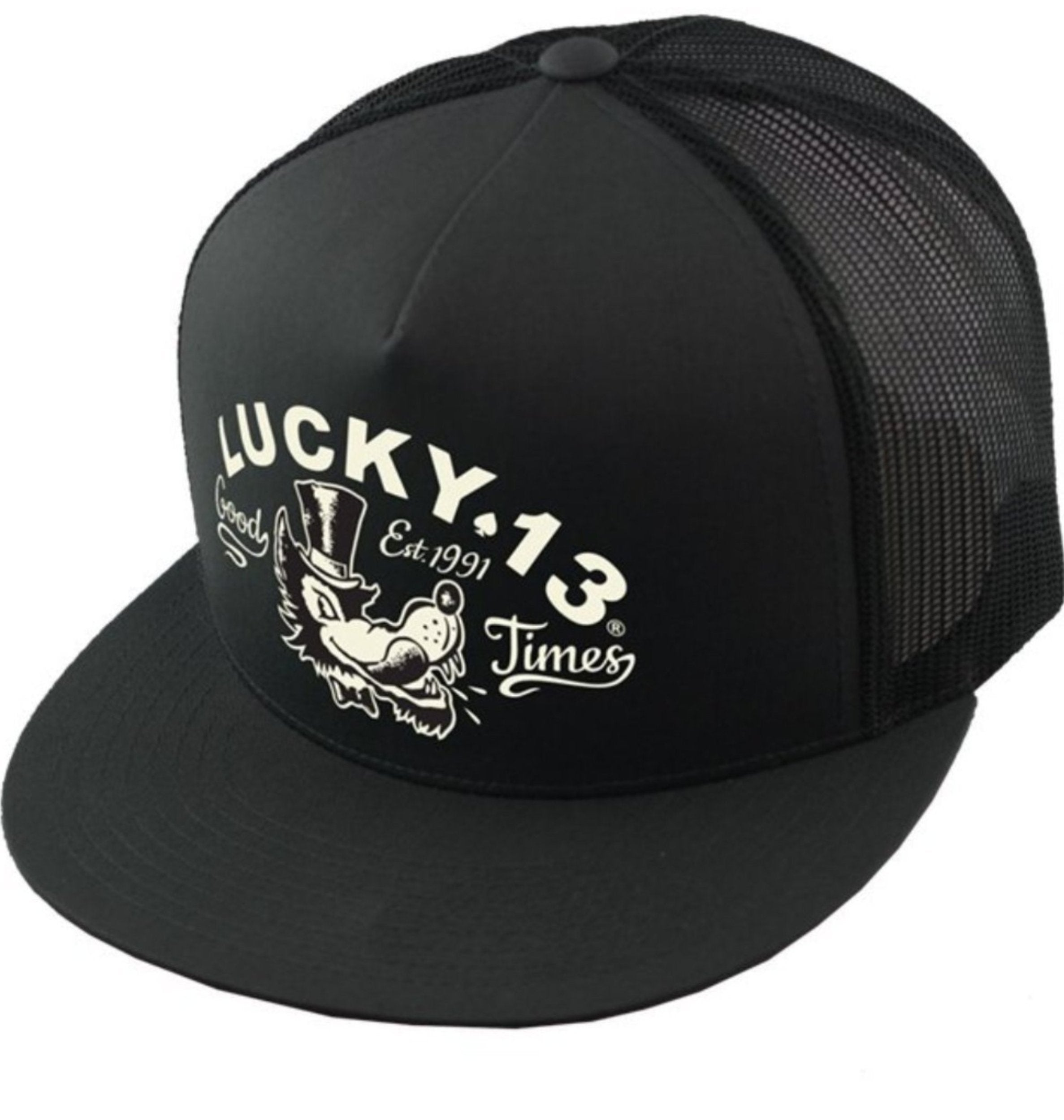 The MR. WOLF Cap - BLACK