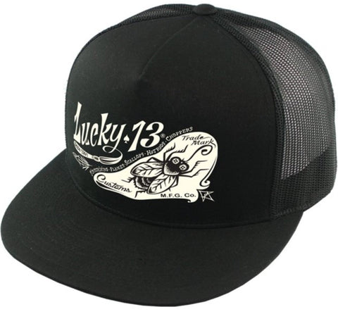 The PIN-FLY Cap - BLACK
