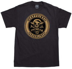 The CAFFEINE & GASOLINE Tee
