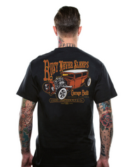 The RUST NEVER SLEEPS Tee