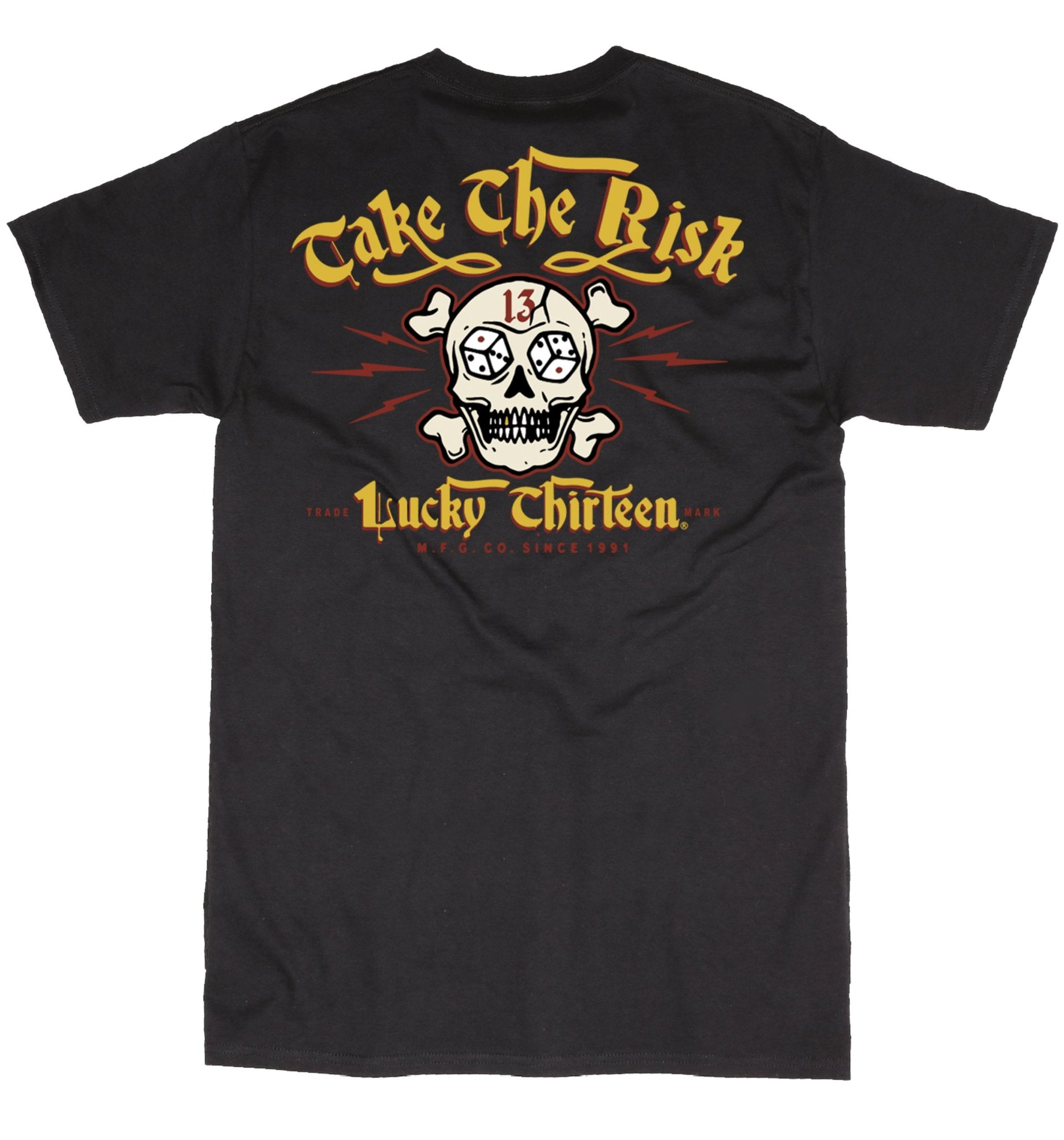 The TAKE THE RISK Tee