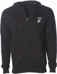 The MR. SKULLY Full Zip Men's Hooded Sweatshirt