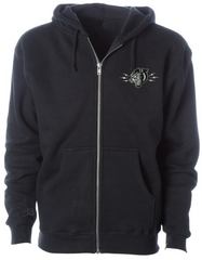 The PANTHER HEAD SUPER Super-Heavyweight Riding Hoodie