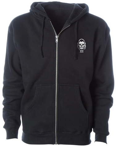 The SPEED REAPER Super Heavyweight Hooded Full Zip Fleece Jacket **NEW**
