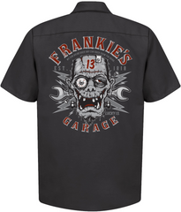 FRANKIE'S GARAGE Work Shirt