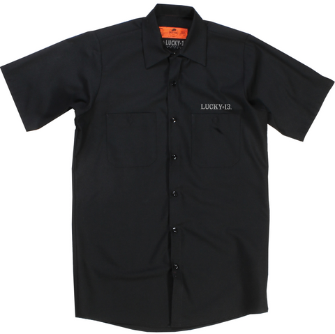 The SKULL BRO Work Shirt