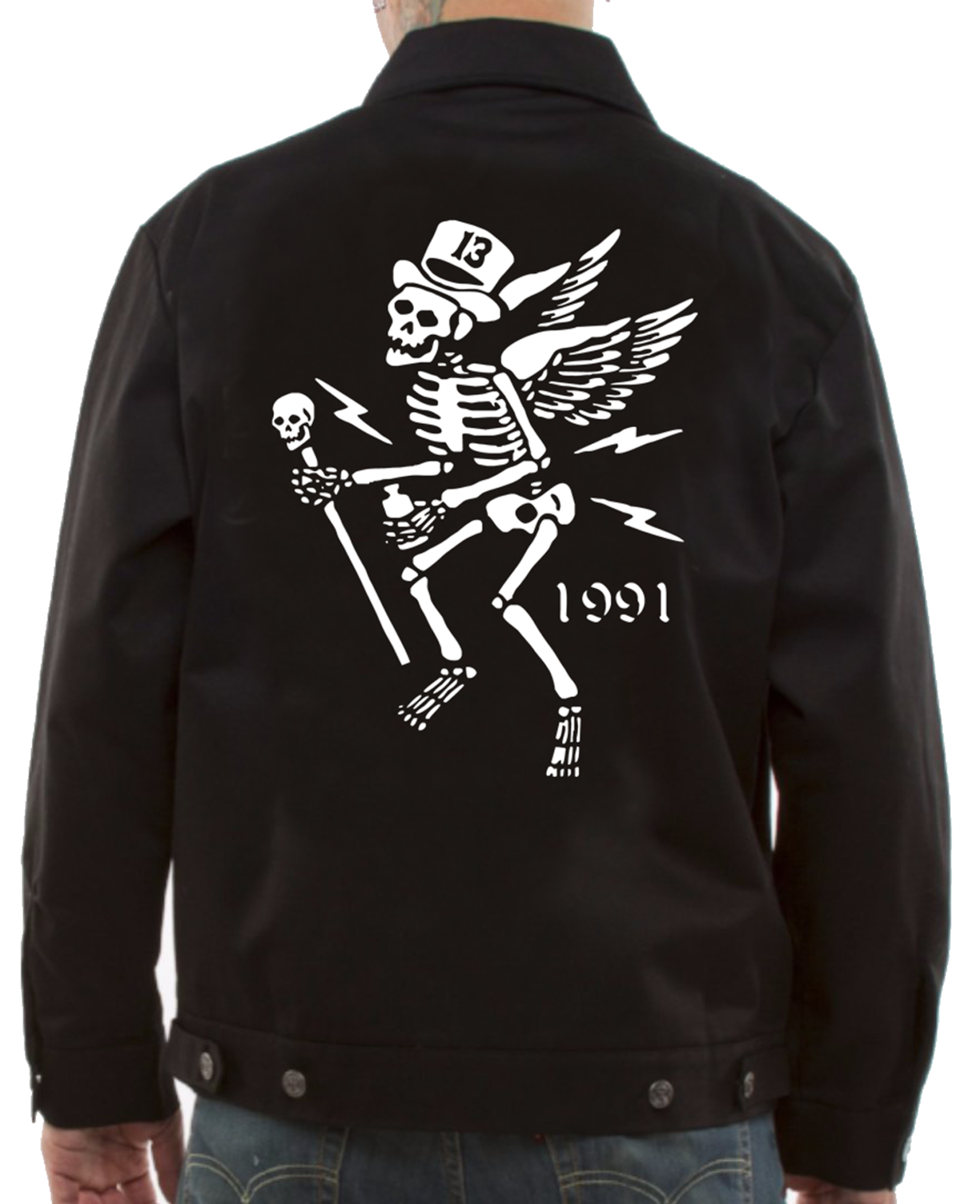 The MR. SKULLY Jacket