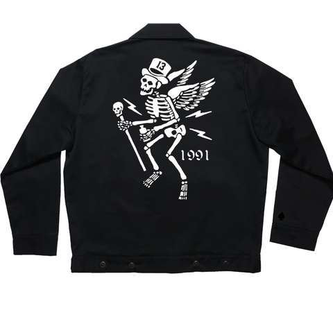 The MR. SKULLY Jacket - ONLY SIZE 3XL LEFT