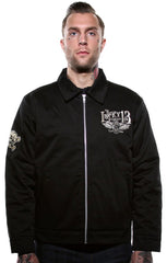 The BURN DON'T FADE Jacket - ONLY SIZES LARGE & X-LARGE LEFT