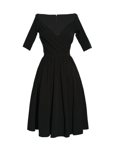 The LOREN Dress - BLACK