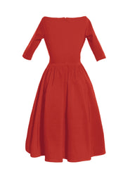 The LOREN DRESS - RED