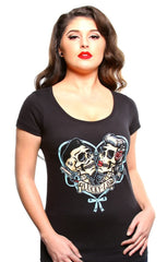 The THAT'S A-MUERTE Scoop Neck Tee