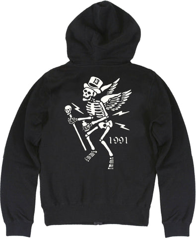 The MR. SKULLY Full Zip Women's Hoodie