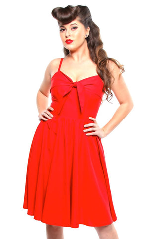 The LUCILLE Dress - RED