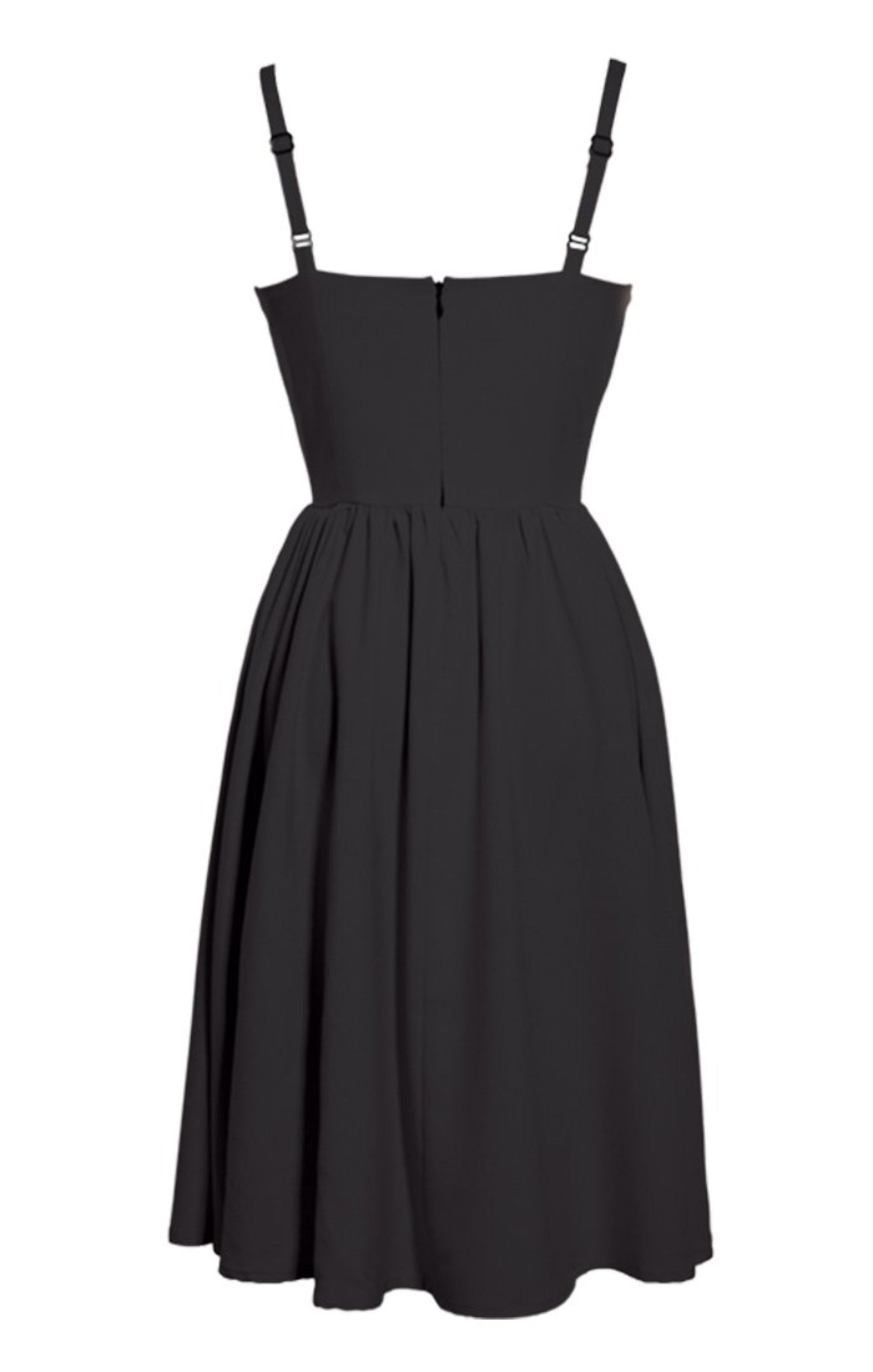The LUCILLE DRESS - BLACK