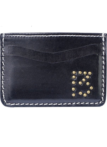 The BLACK MARIAH Studded Card Holder